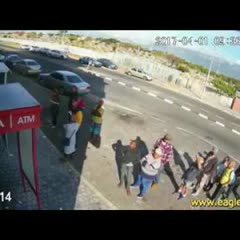 4 MINUTE VIDEO OFF FATAL CASH-IN-TRANSIT HEIST IN CAPE TOWN