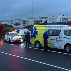 Motor Bike Accident on corner of Otto Du Plessis & Sir David Baird, Blouberg. 1 One patient transported to hospital...