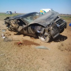 Family of five injured in rollover on the N1 between Edenburg and Trompsburg